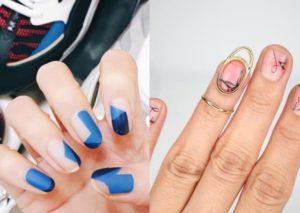 Letnie wzorki na paznokcie