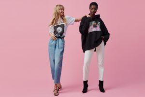 Helena Christensen zaprojektowała bluzy i T-shirty dla HM