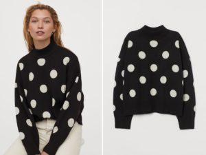 Swetry w grochy HM hitem ostatnich miesięcy