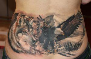 Jakie znaczenie mają tatuaże przedstawiające wilki?